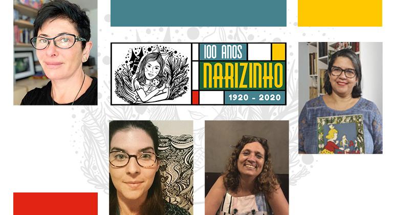 """""""A Menina do Narizinho Arrebitado"""" completa 100 anos e recebe evento online em comemoração."""