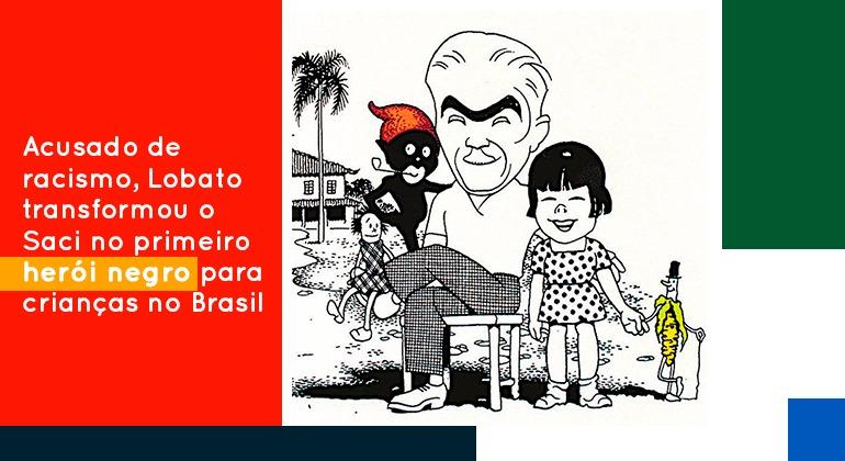 ACUSADO DE RACISMO, LOBATO TRANSFORMOU O SACI NO PRIMEIRO HERÓI NEGRO PARA CRIANÇAS NO BRASIL