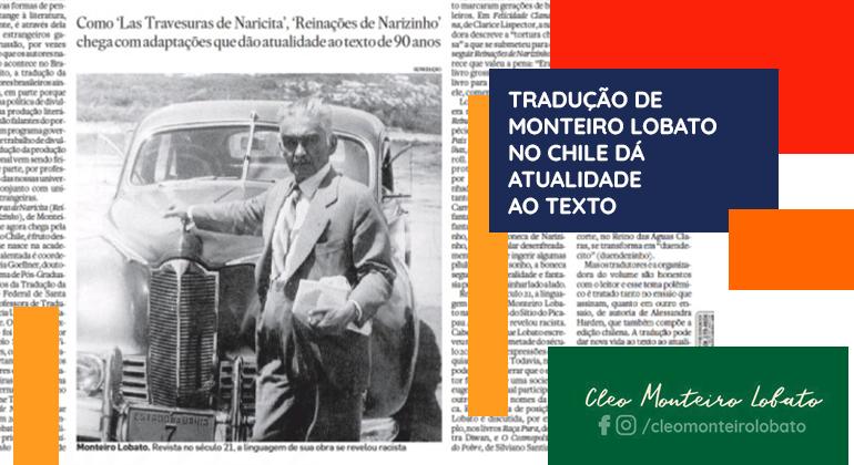 TRADUÇÃO DE MONTEIRO LOBATO NO CHILE DÁ ATUALIDADE AO TEXTO