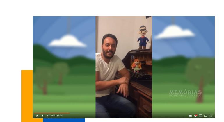 Entrevista com o BISNETO de MONTEIRO LOBATO!