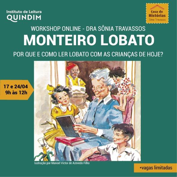 WORKSHOP ONLINE – MONTEIRO LOBATO