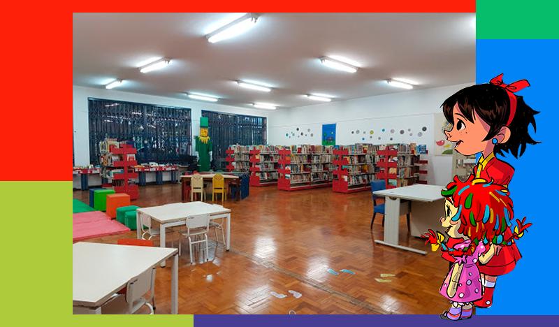 A Biblioteca Monteiro Lobato tem que continuar referência em literatura infantojuvenil.